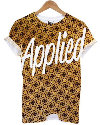 Applied all over print t shirt - Inct Apparel - 1
