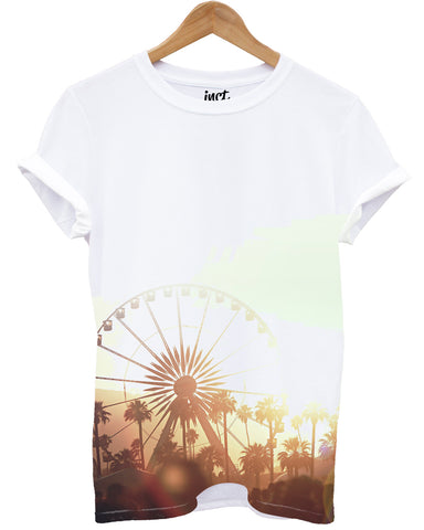 Big Wheel Front All Over T Shirt - Inct Apparel