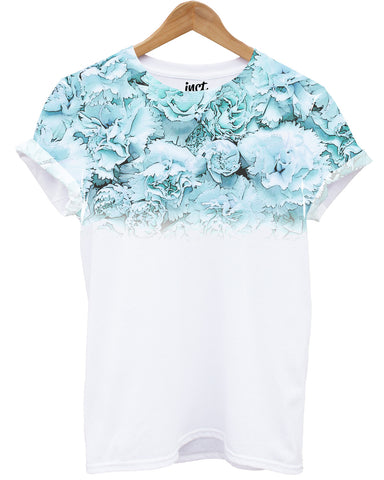Blue Carnation All Over T Shirt - Inct Apparel