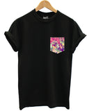 Geometric print pocket t shirt - Inct Apparel - 4