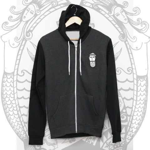 CBB Pocket Raglan Hoodie - Cool Beard Bro Co. - Inct Apparel