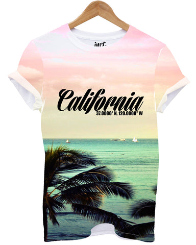 California All Over T Shirt - Inct Apparel