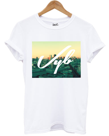 Vyb city view t shirt - Inct Apparel