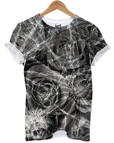 Cracked Roses All Over T Shirt - Inct Apparel