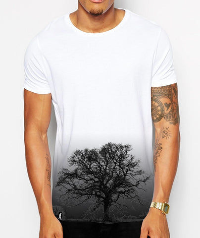 Distinkt Youth Dark Tree Crew Neck Tshirt - Inct Apparel