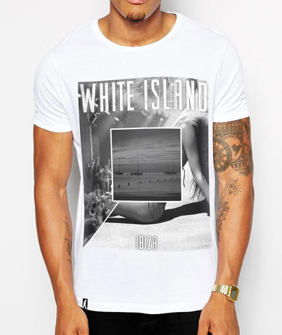 Distinkt Youth The White Island Crew Neck Tshirt - Inct Apparel