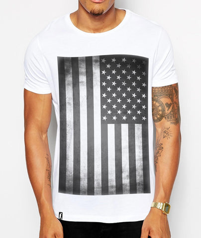 Distinkt Youth Vintage America Crew Neck Tshirt - Inct Apparel