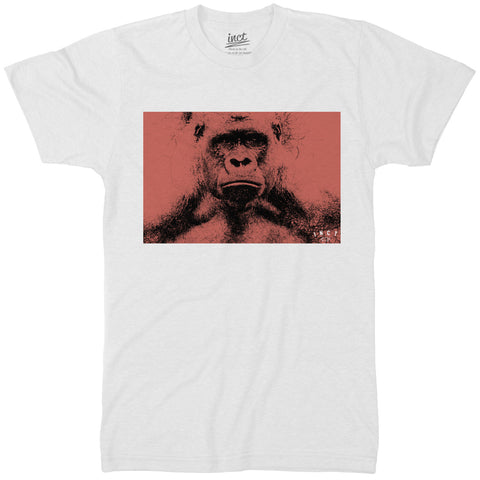 Angry Gorilla Sketch T Shirt - Inct Apparel - 1