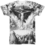 Adoration Black and White All Over T Shirt - Inct Apparel - 1