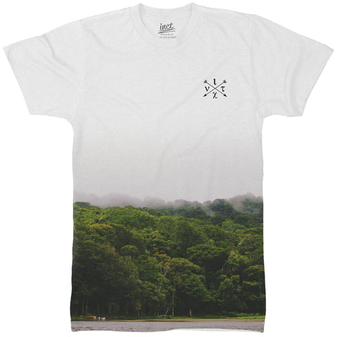 Misty Mountain All Over T Shirt - Inct Apparel - 1