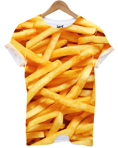 Fries All Over T Shirt - Inct Apparel
