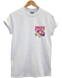 Geometric print pocket t shirt - Inct Apparel - 3