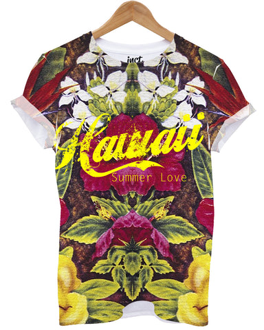 Hawaii All Over T Shirt - Inct Apparel
