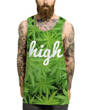 High cannabis all over vest - Inct Apparel - 2