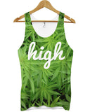 High cannabis all over vest - Inct Apparel - 1