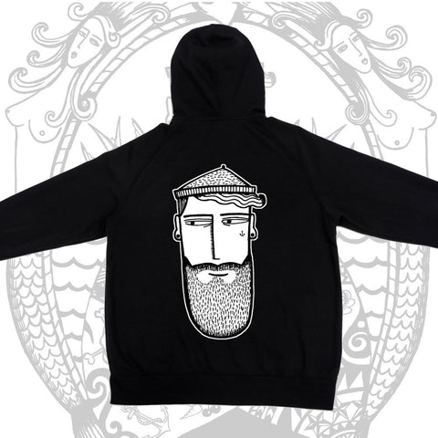 CBB Hoodie - Cool Beard Bro Co. - Inct Apparel - 1