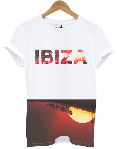 Distinkt Youth Ibiza Red Sunset T shirt - Inct Apparel - 1