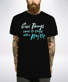 Good Things Come To Those Who Hustle T Shirt - Inct Apparel - 3
