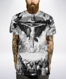 Adoration Black and White All Over T Shirt - Inct Apparel - 2