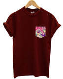 Geometric print pocket t shirt - Inct Apparel - 2