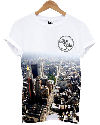 New York All Over T Shirt - Inct Apparel