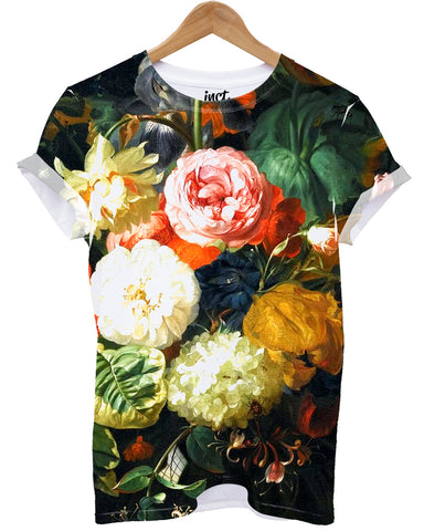 Old Flower All Over T Shirt - Inct Apparel