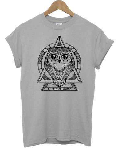 Distinkt Youth Owl T Shirt - Inct Apparel