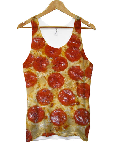 Pizza all over vest - Inct Apparel - 1