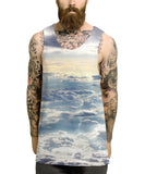 Plane Clouds Vest - Inct Apparel - 2