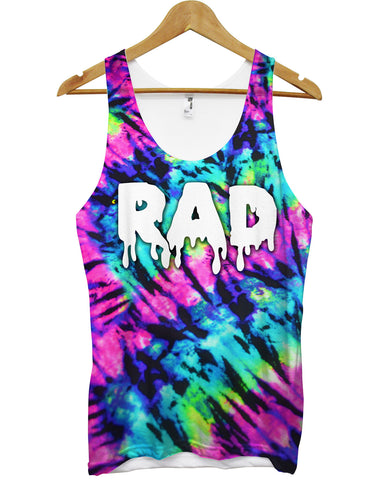 Rad festival all over vest - Inct Apparel - 1