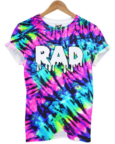 Rad festival all over print t shirt - Inct Apparel
