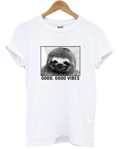 Sloth good vibes t shirt - Inct Apparel