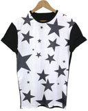 Big Stars Black All Over T Shirt - Inct Apparel - 1