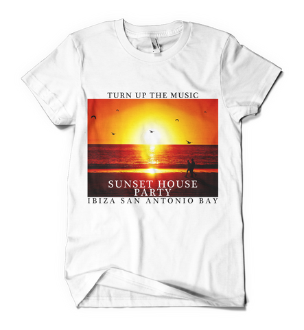 Distinkt Youth Sunset t shirt - Inct Apparel