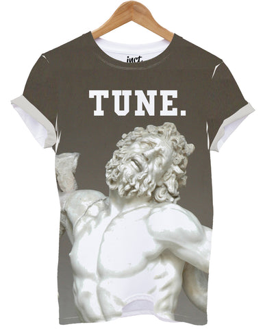 TUNE Greek God Apollo All over print t shirt - Inct Apparel