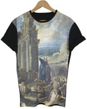 Vision of Ezekiel Black All Over T Shirt - Inct Apparel - 1