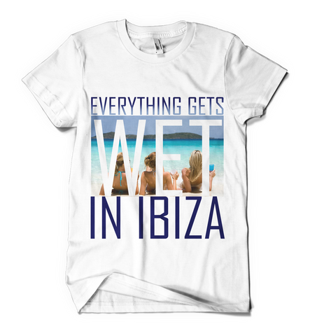 Distinkt Youth Wet in Ibiza t shirt - Inct Apparel