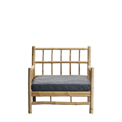Bamboo lounge chair