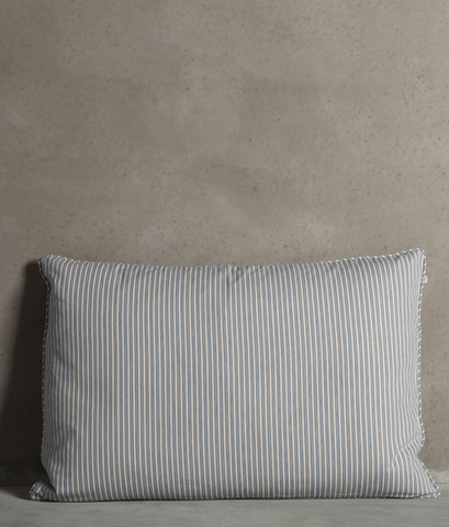 Blue 'Basebet' pillow
