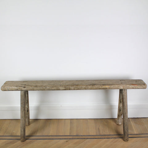 Vintage thin bench