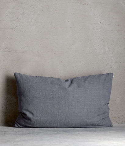 Soft cotton pillow 'Ash'