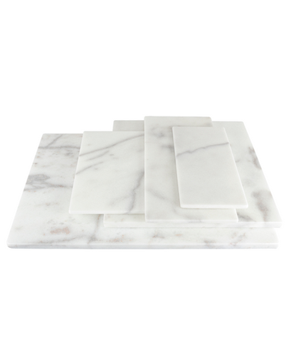 White marble board