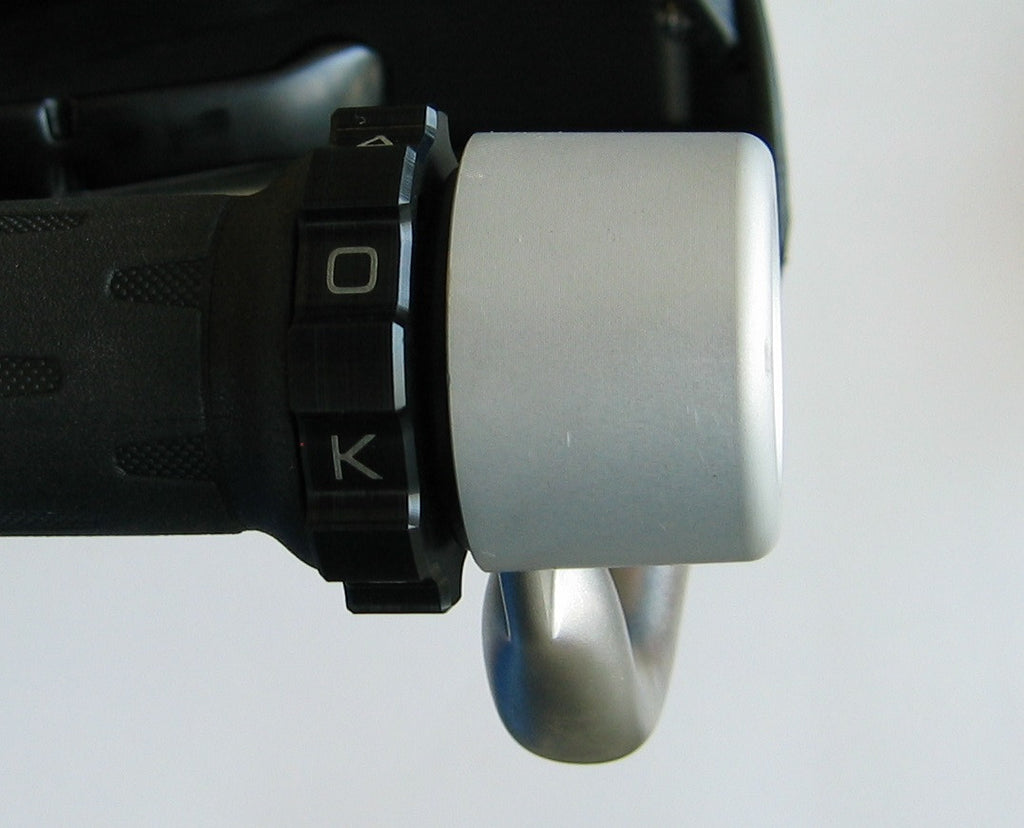 KAOKO™ Cruise Control for BMW F800GS (2013-) & F700GS (2013-) : (for use with OEM steel back bone hand guards)