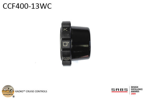 KAOKO™ Cruise Control for BMW R1200GS Water Cooled (2013-) with or without hand guards