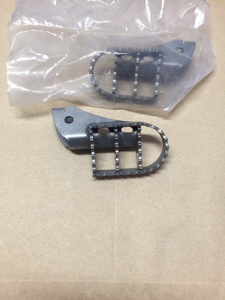 Footpegs Wide Stainless Steel BMW