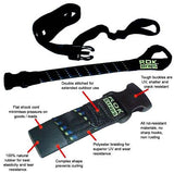 * ROK STRAP Luggage Tie Down straps (Adjustable Looped Ends 1500mm)