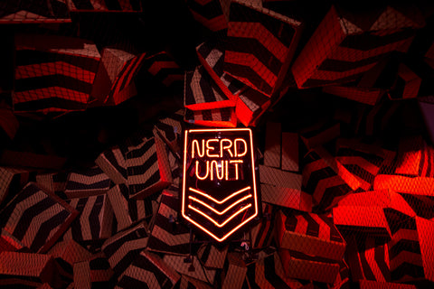 Nerdunit Japan Red Soldier Camp Art