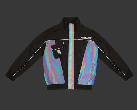 "REFLECTIVE ""COVER"" JACKET 