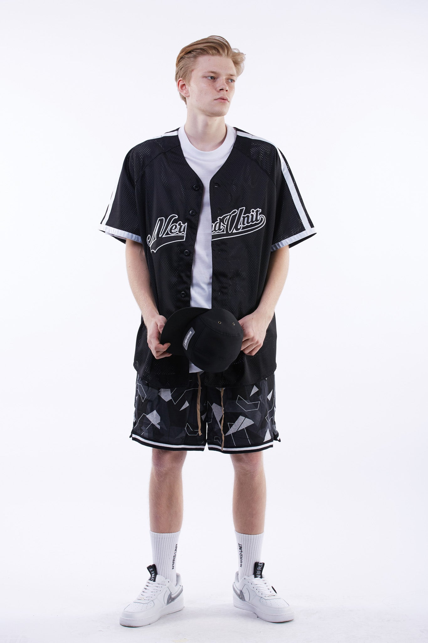 Broadway Baseball Jersey (Black)