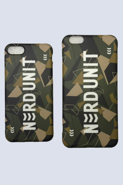 Camo iPhone Case